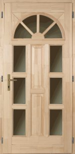 D68 Borovifenyő Bejárati ajtók