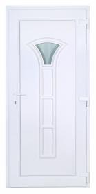 SZAMOS műanyag bejárati ajtó