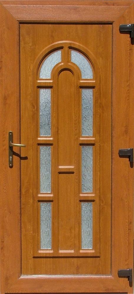 Mercur 2 oldalon fóliás műanyag bejárati ajtó