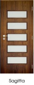 Dekorfóliás Sagitta ajtó Utólag szerelhető tokkal