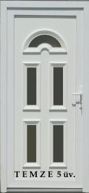 TEMZE 5 Műanyag bejárati ajtó