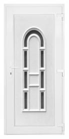 B7 műanyag bejárati ajtó